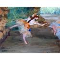Reprodukcje obrazów Dancer on stage - Edgar Degas