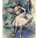 Reprodukcje obrazów Dancer with a Fan - Edgar Degas