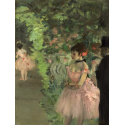 Reprodukcje obrazów Dancers Backstage - Edgar Degas