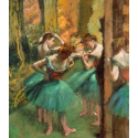 Reprodukcje obrazów Dancers, Pink and Green - Edgar Degas