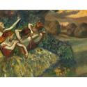 Reprodukcje obrazów Four Dancers - Edgar Degas