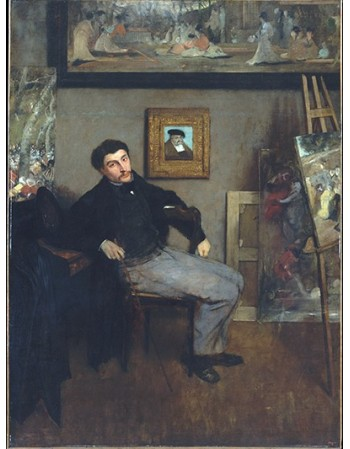 Reprodukcje obrazów James-Jacques-Joseph Tissot - Edgar Degas
