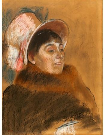 Reprodukcje obrazów Madame Dietz-Monnin - Edgar Degas