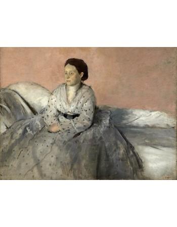 Reprodukcje obrazów Madame René de Gas - Edgar Degas