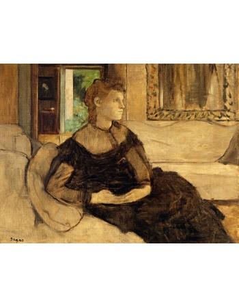 Reprodukcje obrazów Madame Théodore Gobillard - Edgar Degas