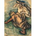 Reprodukcje obrazów Russian Dancer - Edgar Degas