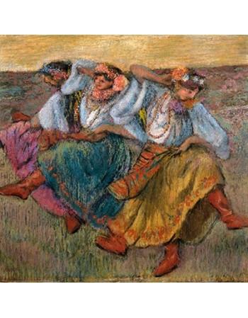 Reprodukcje obrazów Russian Dancers - Edgar Degas