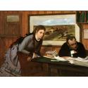 Reprodukcje obrazów Sulking - Edgar Degas