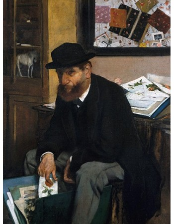 Reprodukcje obrazów The Collector of Prints - Edgar Degas