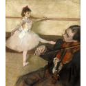 Reprodukcje obrazów The Dance Lesson_2 - Edgar Degas