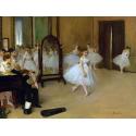 Reprodukcje obrazów The Dancing Class - Edgar Degas