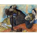 Reprodukcje obrazów The Milliner - Edgar Degas