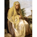 Reprodukcje obrazów The Old Italian Woman - Edgar Degas