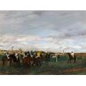 Reprodukcje obrazów The Races - Edgar Degas