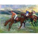 Reprodukcje obrazów Three Jockeys - Edgar Degas