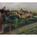 Reprodukcje obrazów View of Saint-Valéry-sur-Somme - Edgar Degas