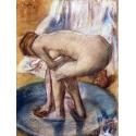 Reprodukcje obrazów Woman Bathing in a Shallow Tub - Edgar Degas