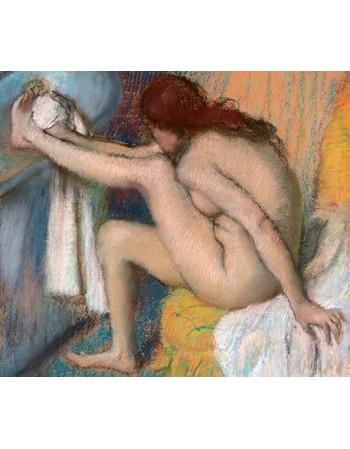 Reprodukcje obrazów Woman Drying Her Foot - Edgar Degas