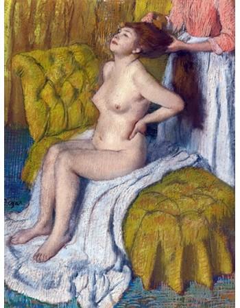 Reprodukcje obrazów Woman Having Her Hair Combed - Edgar Degas