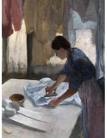 Reprodukcje obrazów Woman Ironing, begun - Edgar Degas