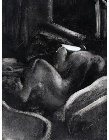 Reprodukcje obrazów Woman Reading (Liseuse) - Edgar Degas
