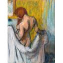 Reprodukcje obrazów Woman with a Towel - Edgar Degas
