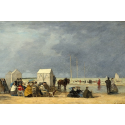 Reprodukcje obrazów Bathing Time at Deauville - Eugene Boudin