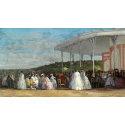 Reprodukcje obrazów Concert at the Casino of Deauville - Eugene Boudin
