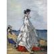 Princess Pauline Metternich on the Beach