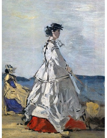Princess Pauline Metternich on the Beach