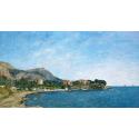 Reprodukcje obrazów The Bay of Fourmis - Eugene Boudin
