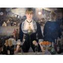 Reprodukcje obrazów A Bar at the Folies-Bergère - Edouard Manet