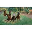 Reprodukcje obrazów At the Races - Edouard Manet