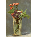 Reprodukcje obrazów Carnations and Clematis in a Crystal Vase - Edouard Manet