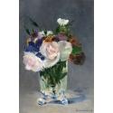 Reprodukcje obrazów Flowers in a Crystal Vase - Edouard Manet