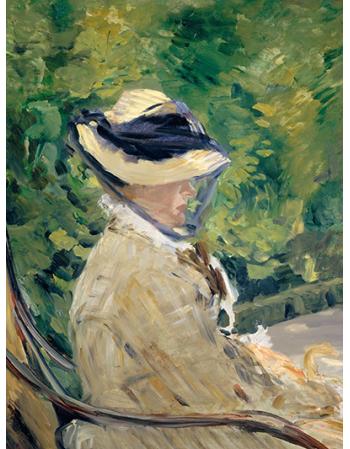 Reprodukcje obrazów Madame Manet - Edouard Manet