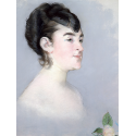 Reprodukcje obrazów Mademoiselle Isabelle Lemonnier - Edouard Manet
