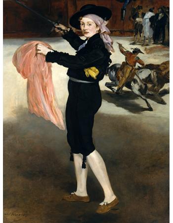 Mademoiselle V. . . in the Costume of an Espada