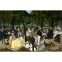Reprodukcje obrazów Music in the Tuileries - Edouard Manet
