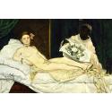 Reprodukcje obrazów Olympia - Edouard Manet