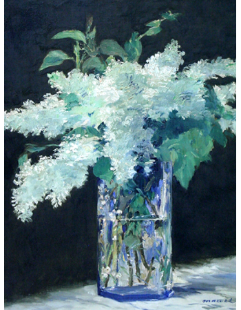 Still Life, Lilac Bouquet