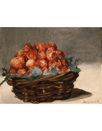 Reprodukcje obrazów Strawberries - Edouard Manet