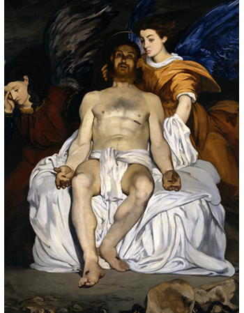 Reprodukcje obrazów The Dead Christ with Angels - Edouard Manet