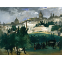 Reprodukcje obrazów The Funeral - Edouard Manet