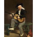 Reprodukcje obrazów The Spanish Singer - Edouard Manet