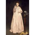 Reprodukcje obrazów Woman with Parrot - Edouard Manet