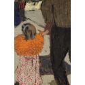 Reprodukcje obrazów Child Wearing a Red Scarf - Edouard Vuillard