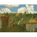 Reprodukcje obrazów Landscape of the Ile de France - Edouard Vuillard