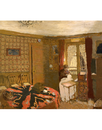 Me Vuillard Sewing by the Window, rue Truffaut