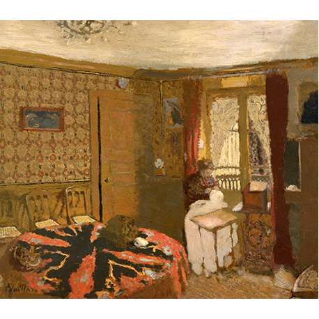 Me Vuillard Sewing by the Window, rue Truffaut